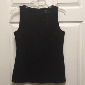 Black Sleeveless Top,